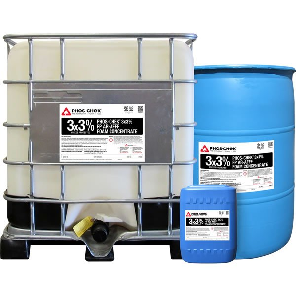 PHOS-CHEK 3×3 AR-AFFF Freeze Protected Foam