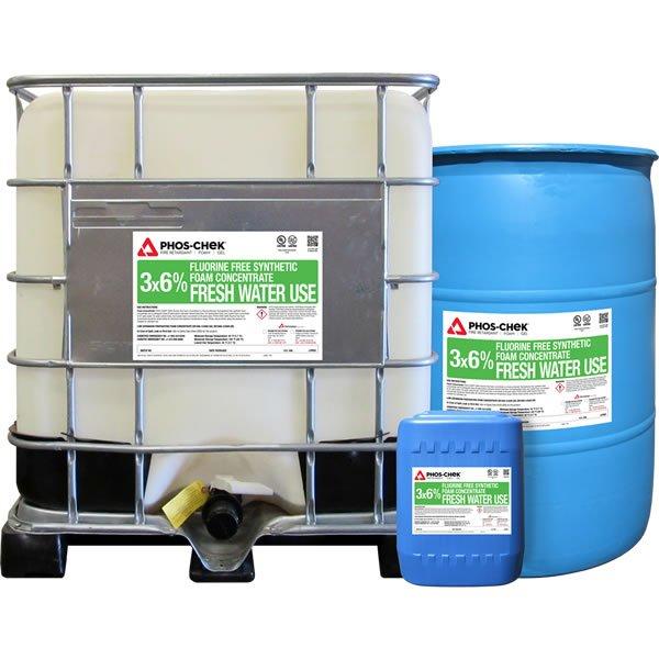 PHOS-CHEK 3x6% Fluorine Free Alcohol Resistant Foam