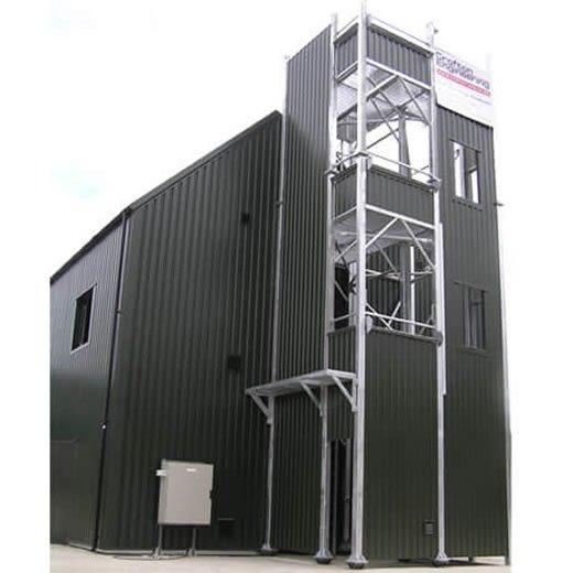 Cold Smoke Fire Training Buildings - Crofton Engineering
