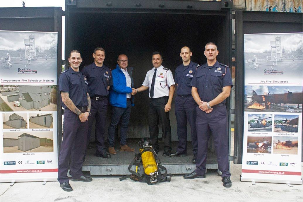 Crofton Engineering Sponsor Breathing Apparatus Team
