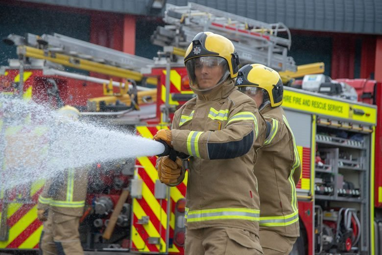 Bristol Uniforms Supply New Kit for Northamptonshire Firefighters