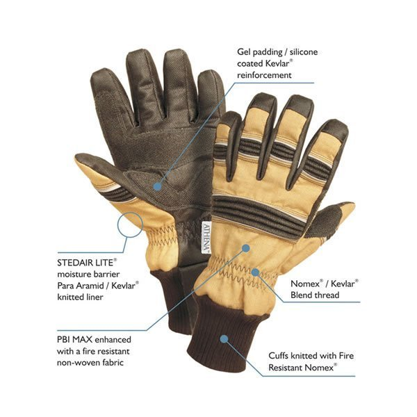 Athena Specialist Firefighter Gloves