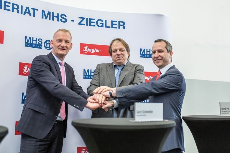 ZIEGLER Partners with MHS Holding