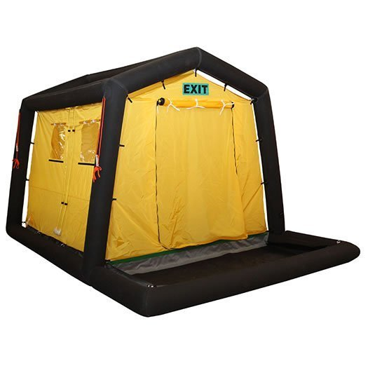 Four Person Decontamination Unit