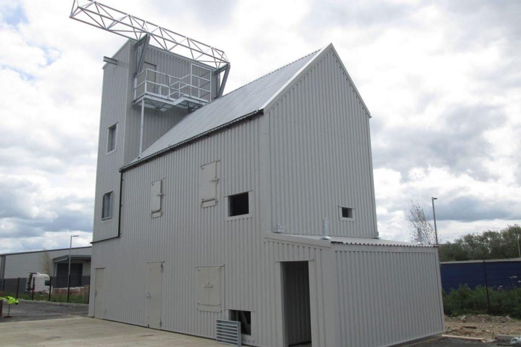Live Fire Training Building for Blue-Light Hub - Fire
