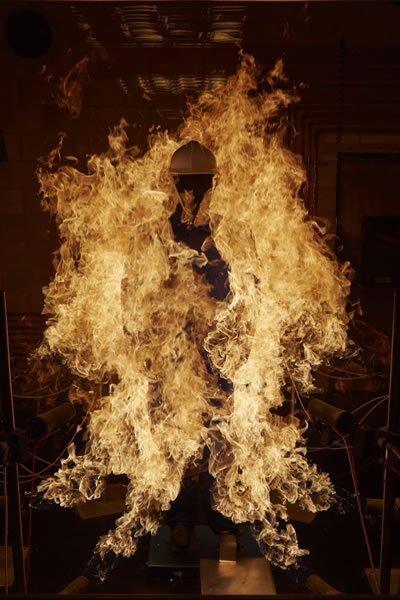 Testing Firefighter PPE - BTTG Manikin Test
