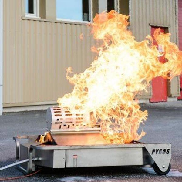 Aerosol Explosion Fire Extinguisher Training Module