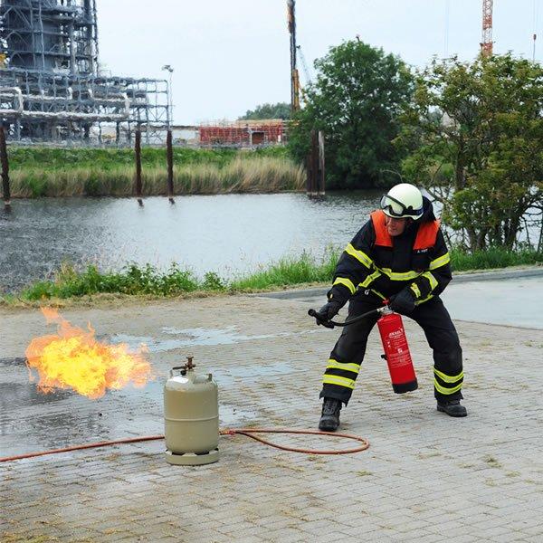 KriBa® GAS CYLINDER FIRE