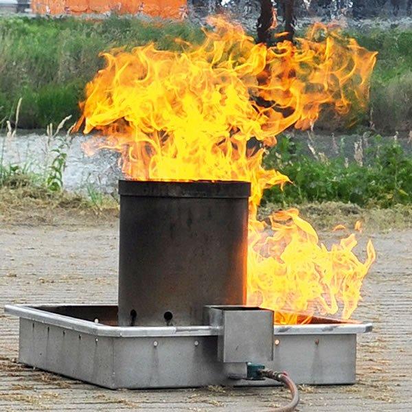 KriBa® WASTEBASKET FIRE