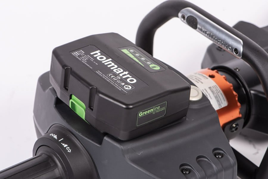 Cordless Rescue Tools Battery Management