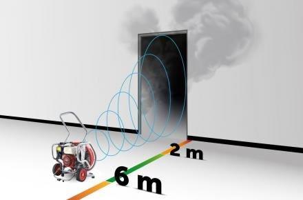 Measuring the Airflow of a Firefighting Blower Fan
